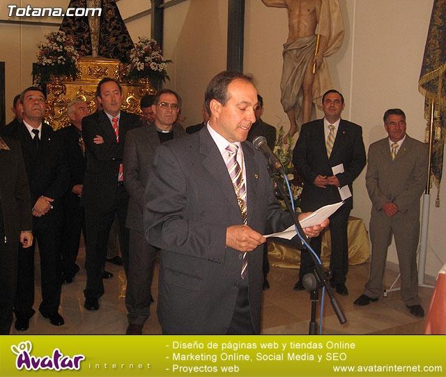 Inauguración de la sede de la Cofradía de Jesús Resucitado - 56
