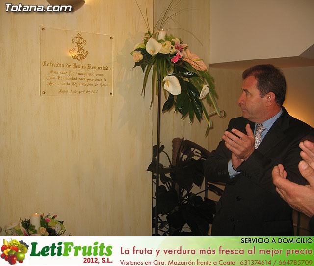 Inauguración de la sede de la Cofradía de Jesús Resucitado - 70