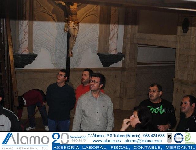 Nueva sede Hdad. Beso de Judas y Jesús Traspasado - Reportaje II - 15
