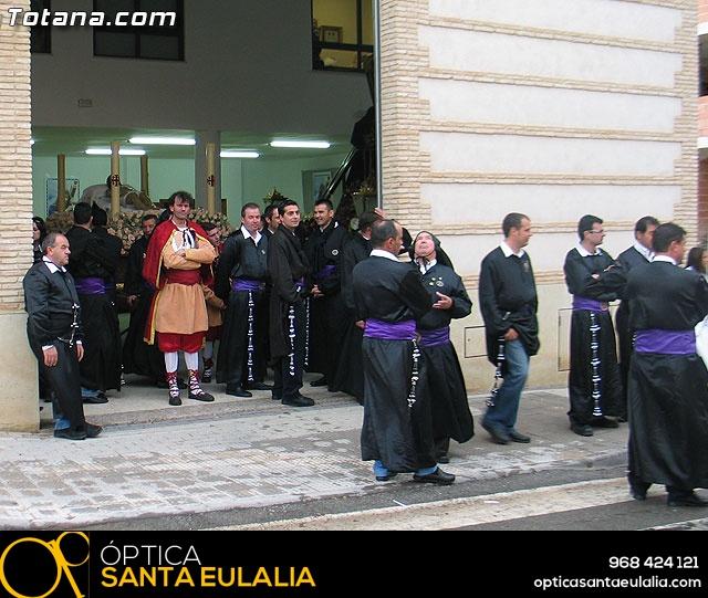 Traslado del Santo Sepulcro desde su sede a la parroquia de Santiago. Totana 2009 - 2