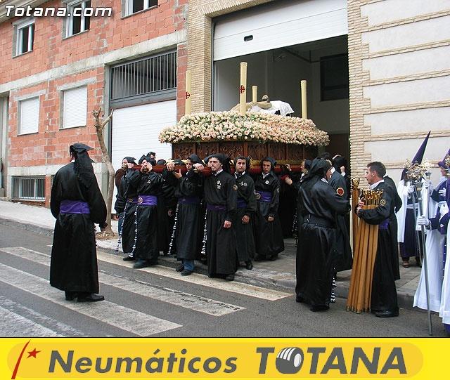 Traslado del Santo Sepulcro desde su sede a la parroquia de Santiago. Totana 2009 - 10