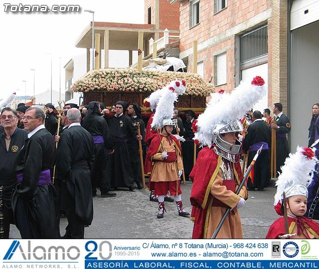 Traslado del Santo Sepulcro desde su sede a la parroquia de Santiago. Totana 2009 - 16
