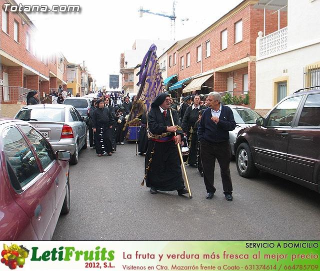 Traslado del Santo Sepulcro desde su sede a la parroquia de Santiago. Totana 2009 - 20