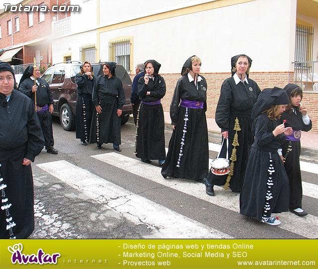 Traslado del Santo Sepulcro desde su sede a la parroquia de Santiago. Totana 2009 - 21