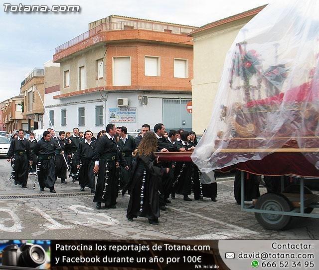 Traslado del Santo Sepulcro desde su sede a la parroquia de Santiago. Totana 2009 - 30