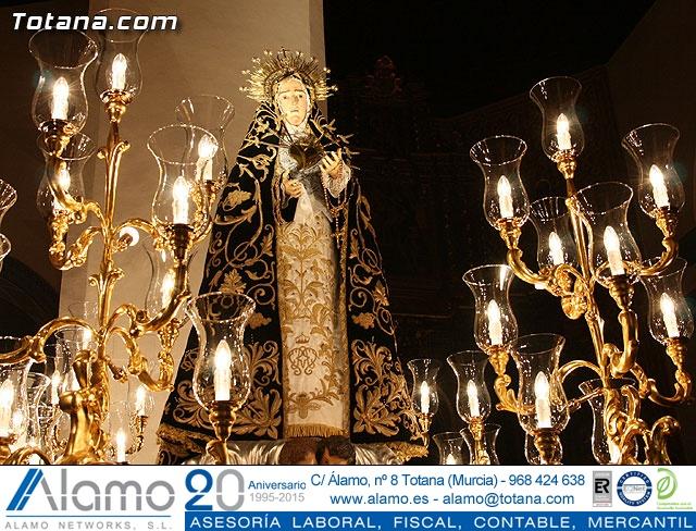 Traslado del Santo Sepulcro desde su sede a la parroquia de Santiago. Totana 2009 - 230