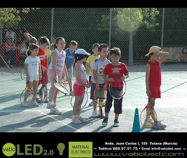 FIESTA DE CLAUSURA DE LA ESCUELA DE TENIS DEL CLUB DE TENIS TOTANA. Curso 2006-2007  - 1