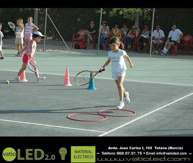 FIESTA DE CLAUSURA DE LA ESCUELA DE TENIS DEL CLUB DE TENIS TOTANA. Curso 2006-2007  - 17
