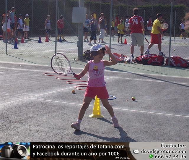 FIESTA DE CLAUSURA DE LA ESCUELA DE TENIS DEL CLUB DE TENIS TOTANA. Curso 2006-2007  - 59