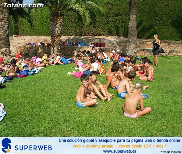 Clausura actividades deportivas de verano. Julio 2010 - 1