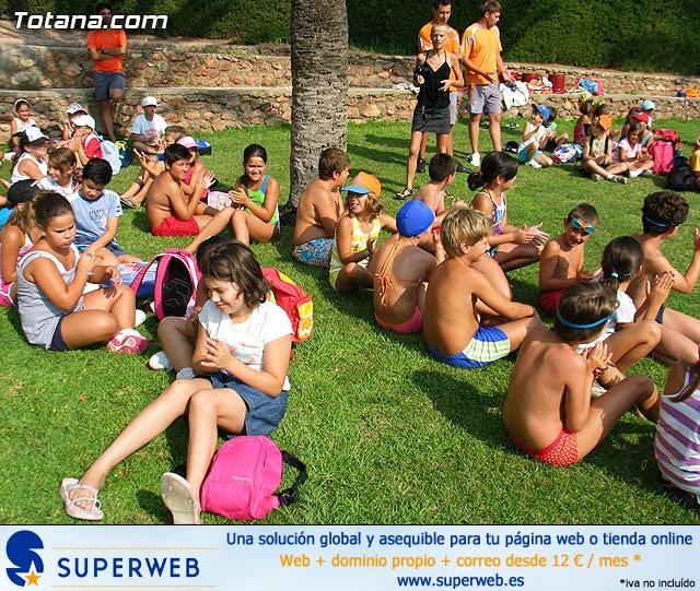 Clausura actividades deportivas de verano. Julio 2010 - 10