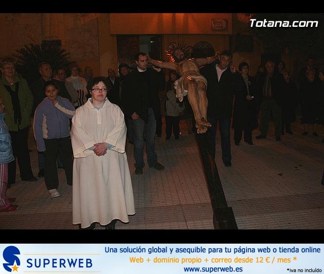 Vía Crucis organizado por la Hermandad de Jesús en el Calvario y la Santa Cena . 2008 - 1
