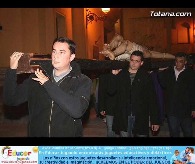 Vía Crucis organizado por la Hermandad de Jesús en el Calvario y la Santa Cena . 2008 - 25