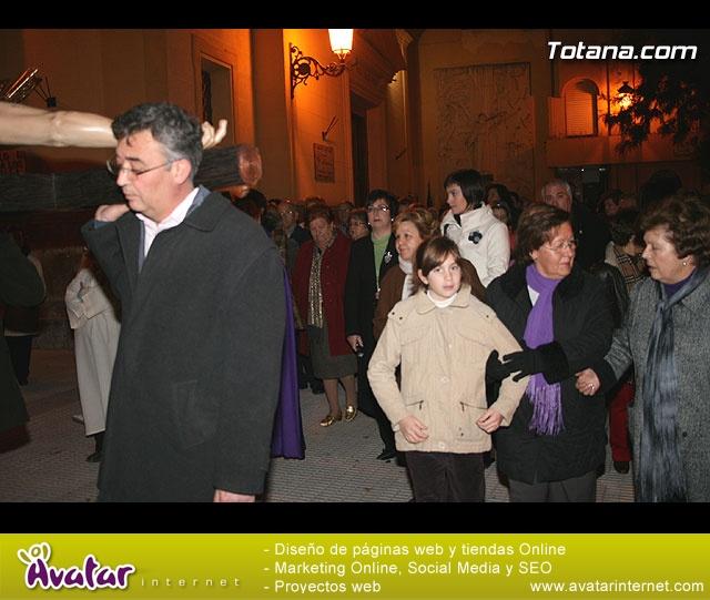 Vía Crucis organizado por la Hermandad de Jesús en el Calvario y la Santa Cena . 2008 - 27