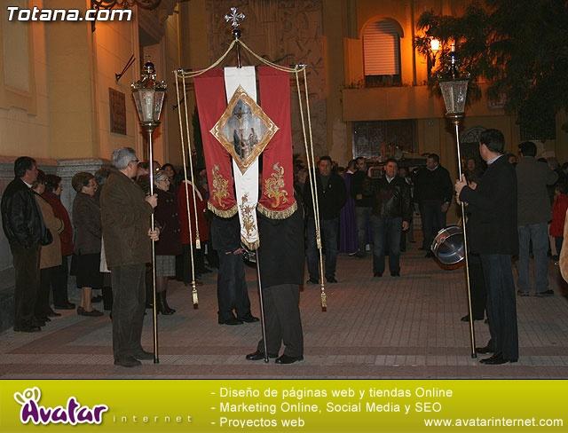 VÍA CRUCIS ORGANIZADO POR LA HERMANDAD DE JESÚS EN EL CALVARIO Y SANTA CENA . 2009 - 2