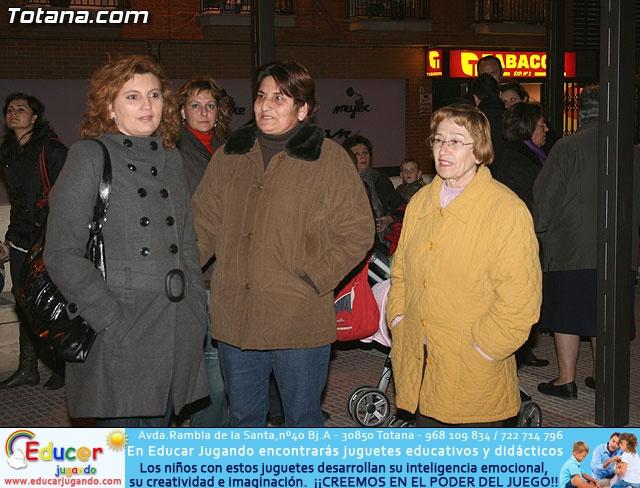 VÍA CRUCIS ORGANIZADO POR LA HERMANDAD DE JESÚS EN EL CALVARIO Y SANTA CENA . 2009 - 3