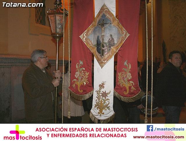 VÍA CRUCIS ORGANIZADO POR LA HERMANDAD DE JESÚS EN EL CALVARIO Y SANTA CENA . 2009 - 7