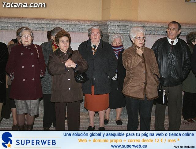 VÍA CRUCIS ORGANIZADO POR LA HERMANDAD DE JESÚS EN EL CALVARIO Y SANTA CENA . 2009 - 9