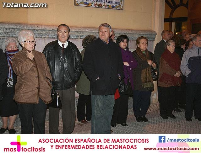 VÍA CRUCIS ORGANIZADO POR LA HERMANDAD DE JESÚS EN EL CALVARIO Y SANTA CENA . 2009 - 10