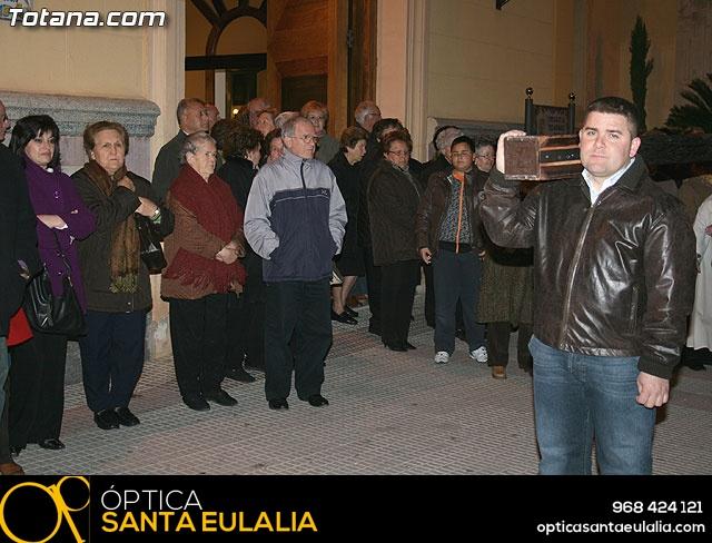 VÍA CRUCIS ORGANIZADO POR LA HERMANDAD DE JESÚS EN EL CALVARIO Y SANTA CENA . 2009 - 11