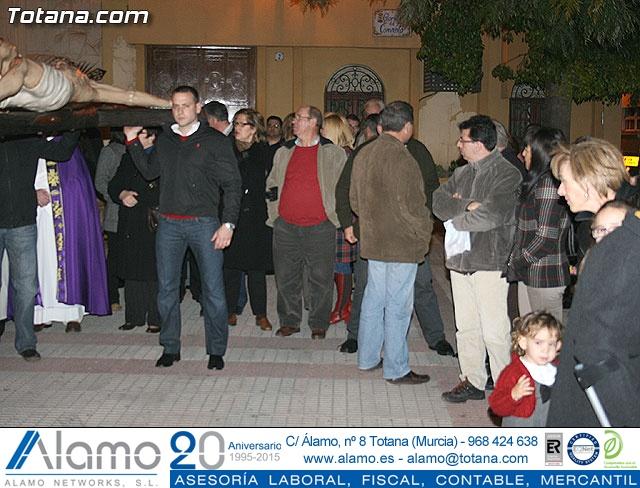VÍA CRUCIS ORGANIZADO POR LA HERMANDAD DE JESÚS EN EL CALVARIO Y SANTA CENA . 2009 - 13