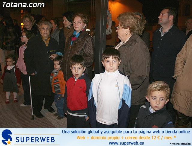 VÍA CRUCIS ORGANIZADO POR LA HERMANDAD DE JESÚS EN EL CALVARIO Y SANTA CENA . 2009 - 14