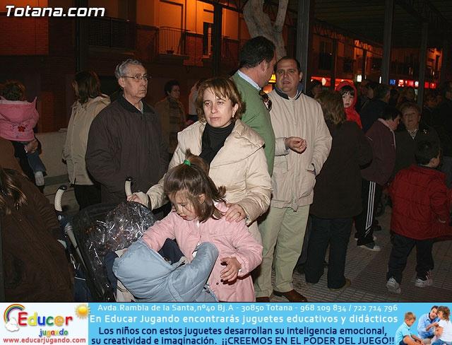 VÍA CRUCIS ORGANIZADO POR LA HERMANDAD DE JESÚS EN EL CALVARIO Y SANTA CENA . 2009 - 15
