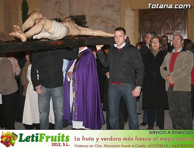 VÍA CRUCIS ORGANIZADO POR LA HERMANDAD DE JESÚS EN EL CALVARIO Y SANTA CENA . 2009 - 16