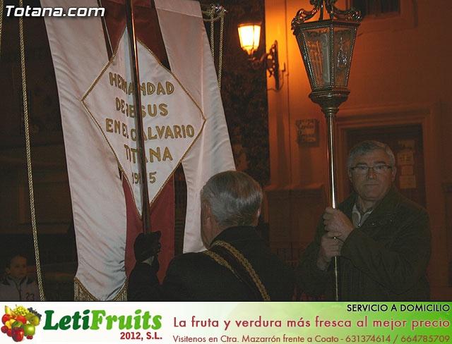 VÍA CRUCIS ORGANIZADO POR LA HERMANDAD DE JESÚS EN EL CALVARIO Y SANTA CENA . 2009 - 18