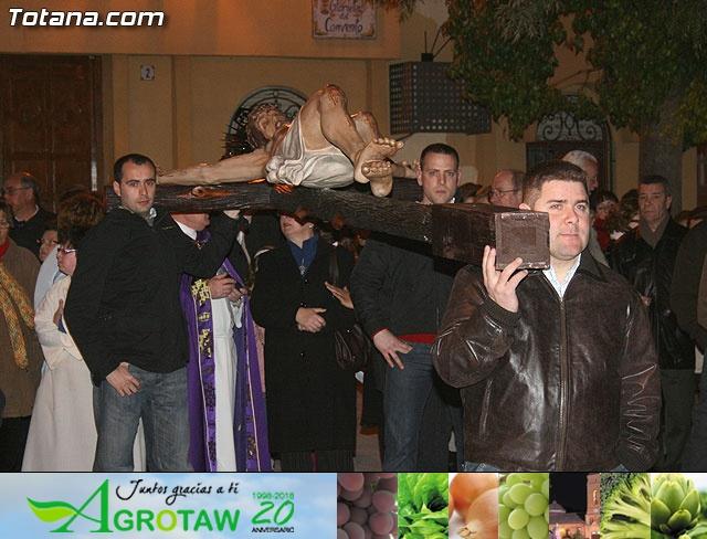 VÍA CRUCIS ORGANIZADO POR LA HERMANDAD DE JESÚS EN EL CALVARIO Y SANTA CENA . 2009 - 22