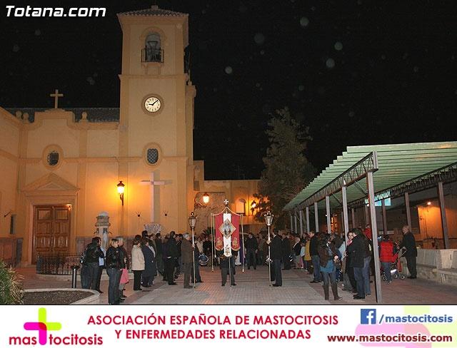 VÍA CRUCIS ORGANIZADO POR LA HERMANDAD DE JESÚS EN EL CALVARIO Y SANTA CENA . 2009 - 24