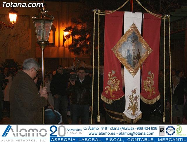 VÍA CRUCIS ORGANIZADO POR LA HERMANDAD DE JESÚS EN EL CALVARIO Y SANTA CENA . 2009 - 25