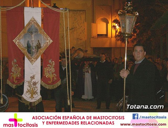 VÍA CRUCIS ORGANIZADO POR LA HERMANDAD DE JESÚS EN EL CALVARIO Y SANTA CENA . 2009 - 26