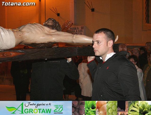 VÍA CRUCIS ORGANIZADO POR LA HERMANDAD DE JESÚS EN EL CALVARIO Y SANTA CENA . 2009 - 30
