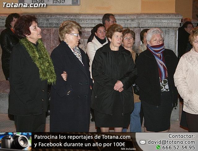 VÍA CRUCIS ORGANIZADO POR LA HERMANDAD DE JESÚS EN EL CALVARIO Y SANTA CENA . 2009 - 32