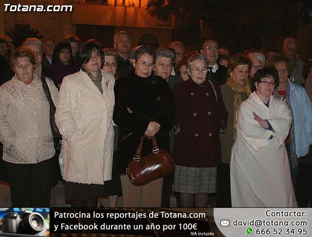 VÍA CRUCIS ORGANIZADO POR LA HERMANDAD DE JESÚS EN EL CALVARIO Y SANTA CENA . 2009 - 33