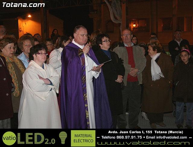 VÍA CRUCIS ORGANIZADO POR LA HERMANDAD DE JESÚS EN EL CALVARIO Y SANTA CENA . 2009 - 34
