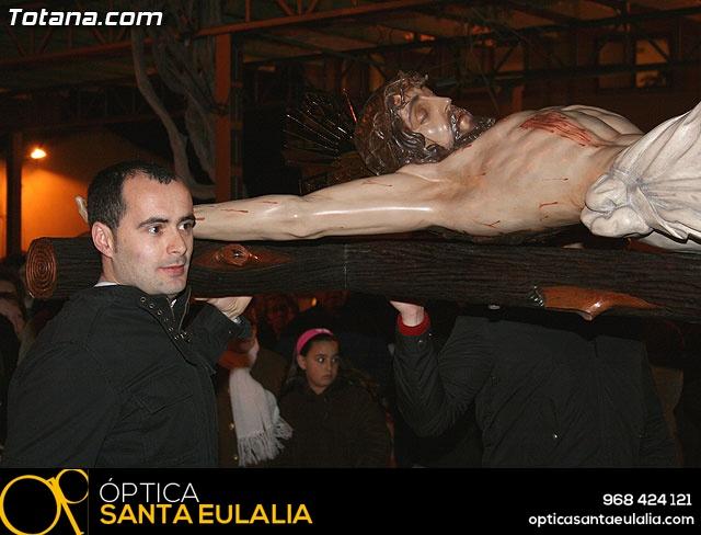 VÍA CRUCIS ORGANIZADO POR LA HERMANDAD DE JESÚS EN EL CALVARIO Y SANTA CENA . 2009 - 35