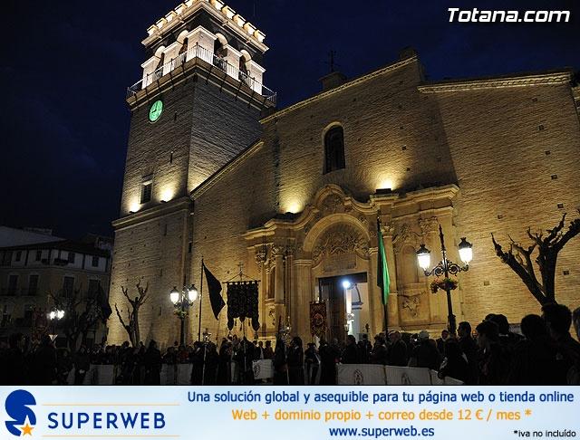 Procesión del Santo Entierro. Viernes Santo - Semana Santa Totana 2009 - 1