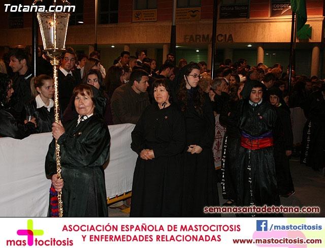 Procesión del Santo Entierro - Viernes Santo 2010 - Reportaje II (Recogida) - 16