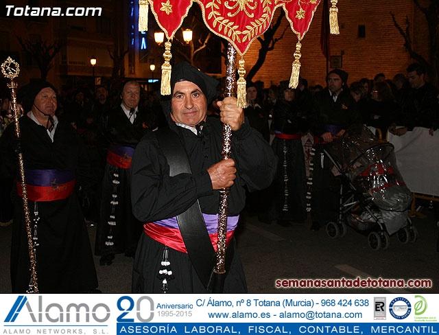Procesión del Santo Entierro - Viernes Santo 2010 - Reportaje II (Recogida) - 17