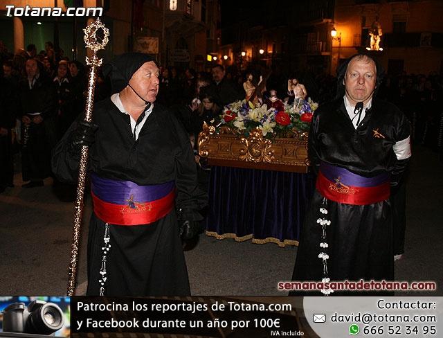 Procesión del Santo Entierro - Viernes Santo 2010 - Reportaje II (Recogida) - 19