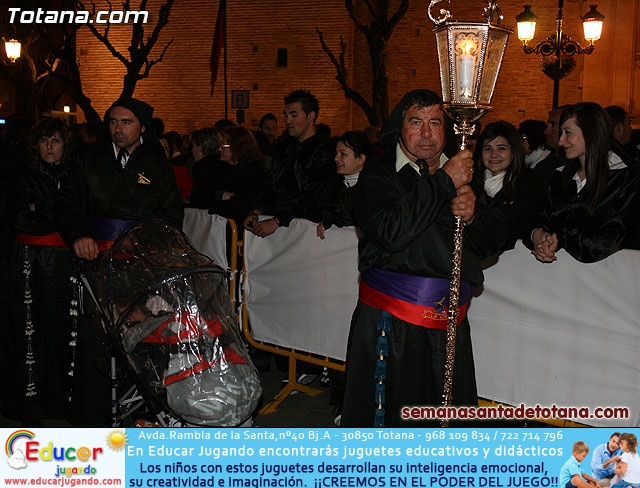 Procesión del Santo Entierro - Viernes Santo 2010 - Reportaje II (Recogida) - 20