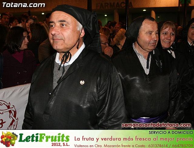 Procesión del Santo Entierro - Viernes Santo 2010 - Reportaje II (Recogida) - 27