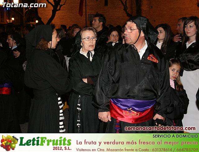 Procesión del Santo Entierro - Viernes Santo 2010 - Reportaje II (Recogida) - 30