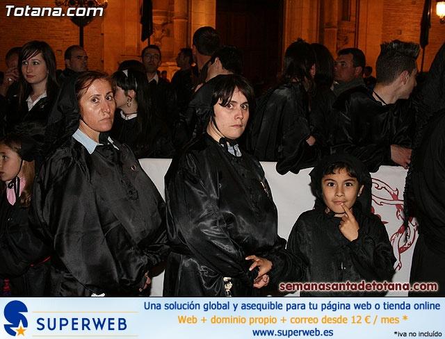 Procesión del Santo Entierro - Viernes Santo 2010 - Reportaje II (Recogida) - 31