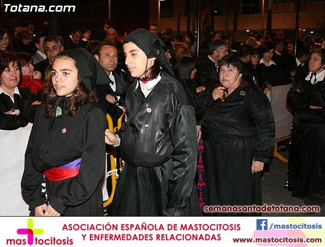 Procesión del Santo Entierro - Viernes Santo 2010 - Reportaje II (Recogida) - 35
