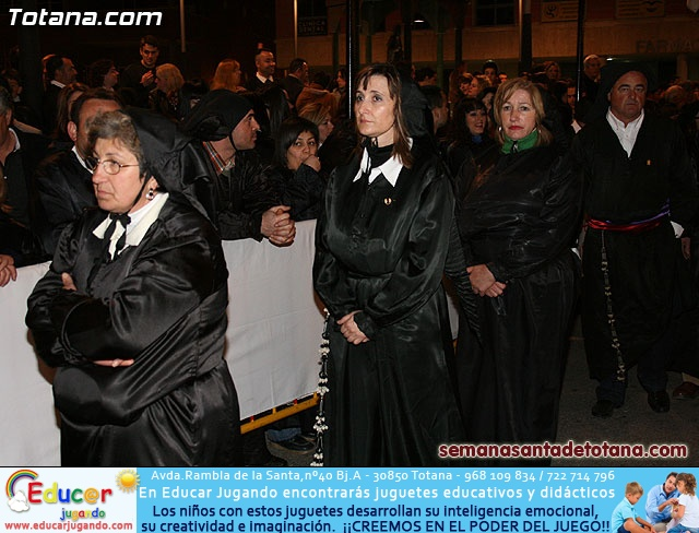 Procesión del Santo Entierro - Viernes Santo 2010 - Reportaje II (Recogida) - 36
