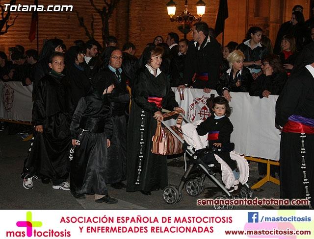 Procesión del Santo Entierro - Viernes Santo 2010 - Reportaje II (Recogida) - 38