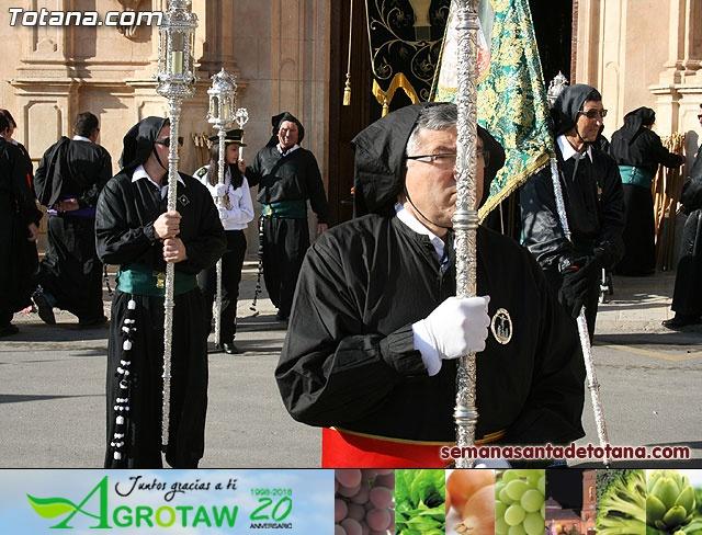 Procesión Viernes Santo mañana 2010 - Reportaje I (Salida y recogida I) - 37